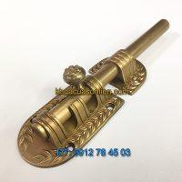 Báo giá nơi bán mẫu Chốt cửa đồng tân cổ điển cao cấp phong cách Italy, dài 200mm, đường kính 16mm giá rẻ tại Hà Nội