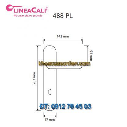 Nơi bán Khóa cửa thông phòng tay gạt nhập khẩu Beta 488-PL của LineaCali Italy tại Hà Nội
