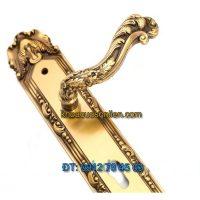 Báo giá khoá cửa chính tay gạt đồng TD BDH-126135-2
