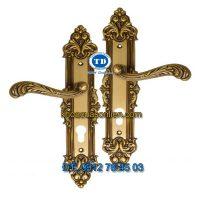Báo giá khoá cửa chính tay gạt đồng TD BDH-184270-2