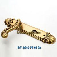 Báo giá Khoá cửa chính tay gạt đồng TD BDH-226226-2