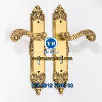 Báo giá khoá cửa chính tay gạt đồng TD BDH-340340-2