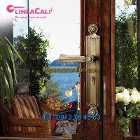 Nơi bán Khóa cửa chính tay gạt nhập khẩu Daisy 1070-PL của Linea Cali-Italy tại Hà Nội