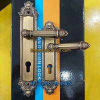Báo giá nơi bán mẫu Khóa cửa chính/ thông phòng tay gạt tân cổ điển giá rẻ K-001 tại Hà Nội