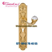 Nơi bán Khóa cửa đại sảnh gắn pha lê Brilliant Crystal 1530-PL của LineaCali