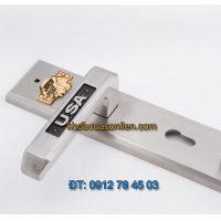 Báo giá Khoá cửa đại sảnh inox TD SPH-231202 đầu đại bàng vàng