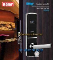 Báo giá khoá cửa điện tử 3 in 1 Koler KL500-CR (khóa cửa thong minh)