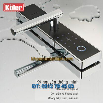 Nơi bán Khóa cửa thông minh smart lock vân tay 4 trong 1 Koler K5 giá rẻ tại Hà Nội