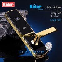 Báo giá khoá cửa thông minh smart lock Koler KL500P-PVD
