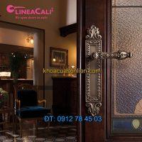 Nơi bán Khóa cửa tay gạt cổ điển Arcadia 1640-PL của LineaCali tại Hà Nội