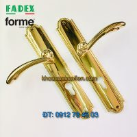 Nơi bán Khóa cửa thông phòng tay gạt cổ điển Roma 458 của Forme (FADEX) mạ vàng PVD tại Hà Nội