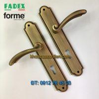 Nơi bán Khóa cửa thông phòng cổ điển Roma 458 của Forme (FADEX) màu rêu tại Hà Nội