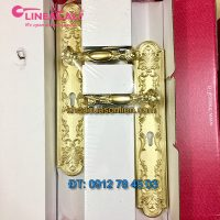 Nơi bán Khóa cửa tay gạt nhập khẩu mạ vàng Queen của LineaCali Italy tại Hà Nội