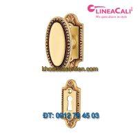 Báo giá Khoá cửa thông phòng tay xoay Sissi 1400-PG-010 của Linea Calì