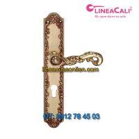Báo giá khóa cửa thông phòng tay gạt đẹp cổ điển Poesia 1397-PL của LineaCali