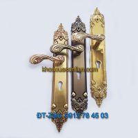 Báo giá nơi bán mẫu Khóa đồng tân cổ điển tay gạt dùng cho cửa chính K-003-CC giá rẻ tại Hà Nội
