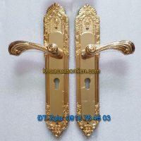 Báo giá nơi bán mẫu Khóa thông phòng tân cổ điển cho cửa gỗ K-005-TP chất liệu đồng giá rẻ tại Hà Nội