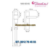 Báo giá Khóa cửa đại sảnh tân cổ điển Opera 1055 ED-ES của LineaCali