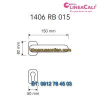 Báo giá Khoá cửa thông phòng tay gạt Queen 1406-RB-015 của Linea Cali
