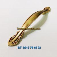 Nơi bán Mẫu tay nắm cửa tủ tân cổ điển bằng đồng 6011 - 96mm tại Hà Nội giá rẻ