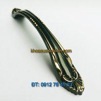 Nơi bán Mẫu tay nắm tủ màu đen kiểu dáng tân cổ điển 9631 - 128mm đẹp giá rẻ tại Hà Nội