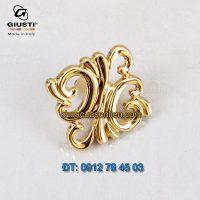Báo giá Nơi bán Núm cửa tủ cổ điển mạ vàng 24K WPO707.000.00GP Giusti nhập khẩu Italy giá rẻ tại Hà Nội