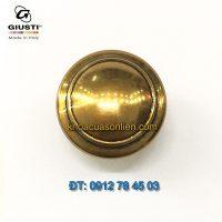 Báo giá Núm cửa tủ tròn màu đồng WPO2025/30.00A8 30mm của Giusti nhập khẩu Italy tại Hà Nội