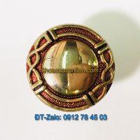 Báo giá nơi bán mẫu Núm tủ hợp kim tròn mạ màu vàng-đỏ 994 đường kính 30mm giá rẻ tại Hà Nội