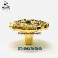 Nơi bán Núm tủ tân cổ điển đẹp mạ vàng WP0837.000.00G 37mm Giusti - Italy nhập khẩu chính hãng tại Hà Nội