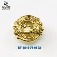 Nơi bán Tay nắm tủ tân cổ điển đẹp mạ vàng WP0837.000.00GP 37mm Giusti - Italy nhập khẩu chính hãng tại Hà Nội