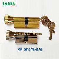 Nơi bán ruột khóa Fadex một đầu xoay một đầu chìa - chìa thường