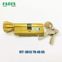 Báo giá ruột khóa Fadex một đầu xoay một đầu chìa - chìa thường