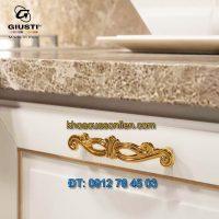 Giá bán mẫu Tay co cổ điển mạ vàng 24K WMN747.096.00GP 96mm của Giusti nhập khẩu Italy giá rẻ tại Hà Nội