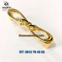 Nơi bán mẫu Tay co tủ hình số 8 mạ vàng 24K WMN636.096.00GP của Giusti nhập khẩu Italy giá rẻ tại Hà Nội