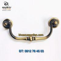 Báo giá nơi bán mẫu Tay giật đôi cổ điển Italy 5049/0A.03 nhập khẩu từ Giusti giá rẻ tại Hà Nội