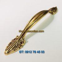 Nơi bán mẫu Tay nắm cửa tủ bằng đồng kiểu dáng tân cổ điển 2109 - 128mm giá rẻ tại Hà Nội