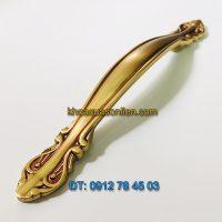 Nơi bán mẫu Tay nắm cửa tủ đồng phong cách tân cổ điển 6011 - 128mm giá rẻ tại Hà Nội
