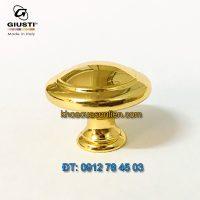 Nơi bán mẫu Tay nắm cửa tủ tròn mạ vàng 24K Giusti WPO2025/30.00GP 30mm - Italy xịn nhập khẩu chính hãng giá rẻ tại Hà Nội