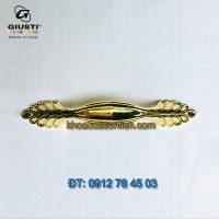 Báo giá Tay nắm tủ tân cổ điển cao cấp mạ vàng 24K Maniglia Zama của hãng Giusti - Italia
