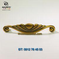 Báo giá Tay nắm tủ bếp tân cổ điển Placcato Oro 160mm của hãng Giusti - Italy