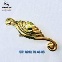Báo giá Tay nắm tủ sang trọng mạ vàng 24K Placcato Oro của hãng Giusti - Italy