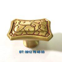 nơi bán Núm nắm tủ bằng đồng thau 6030 - 30 x 45mm giá rẻ tại Hà Nội
