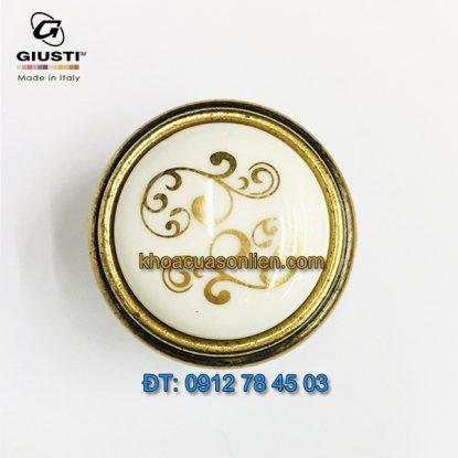 Nơi bán Tay nắm tủ tân cổ điển đẹp P88.01.P1.A8G 30mm của Giusti - Italy xịn tại Hà Nội