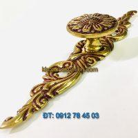 Nơi bán mẫu Tay nắm tủ hình dây hoa kiểu cổ điển bằng đồng 31300 - 150mm giá rẻ tại Hà Nội