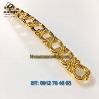 Nơi bán mẫu Tay nắm tủ dài mạ vàng 24K WMN821.192.00GP 192mm của Giusti Italy giá rẻ tại Hà Nội