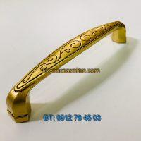 Nơi bán Tay nắm cửa tủ đồng thau dây hoa 2111 - 128mm tại Hà Nội