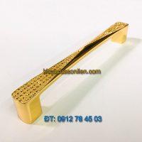 Nơi bán mẫu Tay nắm tủ mạ màu vàng chất liệu hợp kim 6031 128mm và 158mm giá rẻ tại Hà Nội