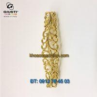 Nơi bán tay nắm tủ cổ điển mạ vàng 24K WMN707.096.00GP 96mm Giusti Italy nhập khẩu chính hãng tại Hà Nội