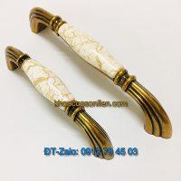 Báo giá nơi bán mẫu Tay nắm tủ mặt sứ tân cổ điển mang phong cách Ý TT-008 giá rẻ tại Hà Nội