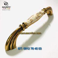 Nơi bán Mẫu tay nắm tủ tân cổ điển đẹp M71.01.G7.A8G 128mm của Giusti - Italy xịn tại Hà Nội